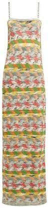 Missoni Zigzag Wool Blend Maxi Dress - Womens - White Multi