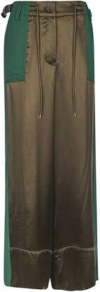 Sacai Drawstring Pallazo Trousers