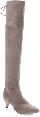 Sam Edelman Steel Grey Kristie Stretch Over-the-Knee Boots