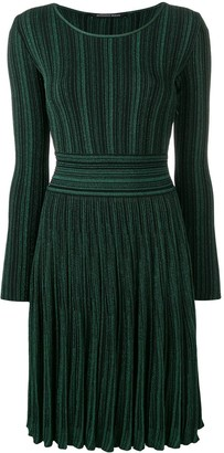 Valenti Antonino glitter ribbed dress