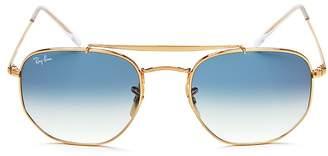 Ray-Ban Marshal Hexagonal Sunglasses, 54mm