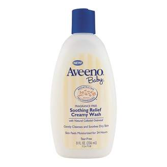 Aveeno Baby Soothing Relief Creamy Wash 236 mL