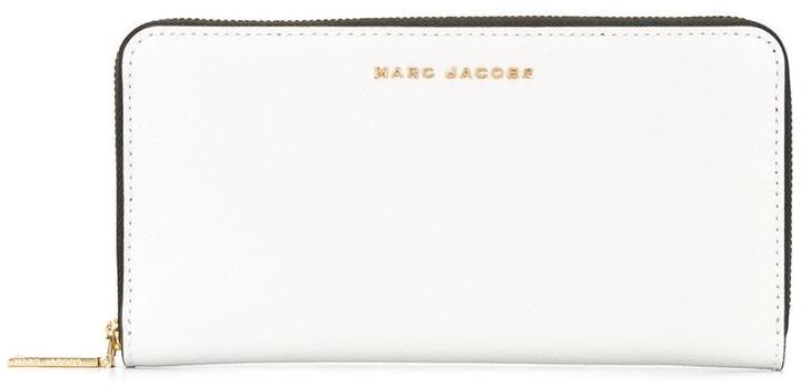 Marc JacobsMarc Jacobs Saffiano Bicolour continental wallet