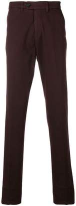 Canali slim-fit chino trousers
