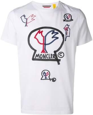 Moncler 1952 logo T-shirt