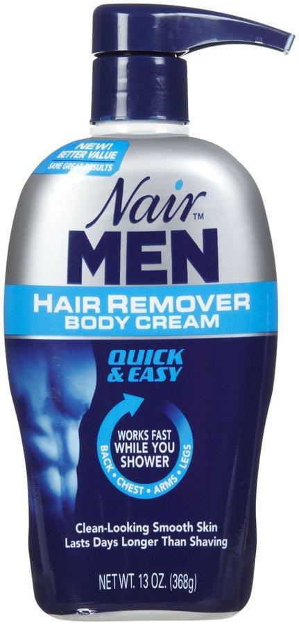 Nair Men Hair Remover Body Cream - 13 oz