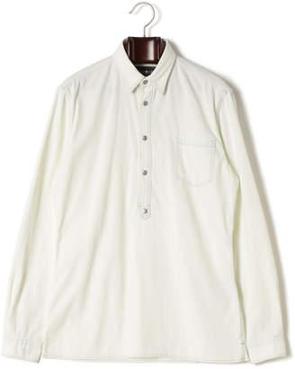 Hydrogen デニム 長袖ポロシャツ ホワイト xs