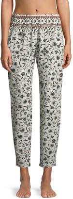 Paige Xirena Graphic-Print Lounge Pants