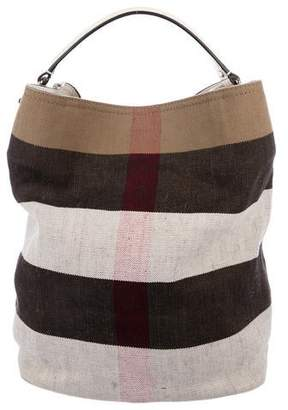 8e6ce11c28482b Burberry Canvas Exploded Check Tote