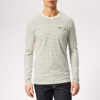 Superdry Men's Stripe Long Sleeve Top