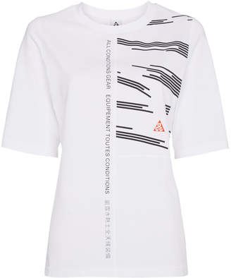 Nike ACG panelled short sleeve t-shirt