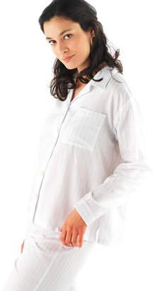 PJ Pan Classic Striped Egyptian Cotton Pyjamas