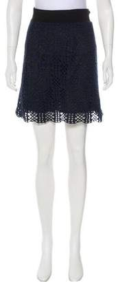 Risto Crochet Mini Skirt