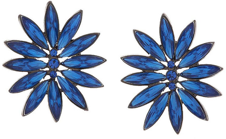 Spikey Flower Earrings**