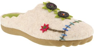 Spring Step Flexus by Indoor Outdoor Wool Slippers - Piketfens