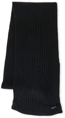 John Varvatos Wool Rib Knit Scarf