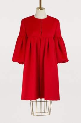 Valentino Wool and angora coat