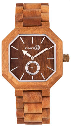 Earth Wood Acadia Wood Bracelet Watch Olive 43Mm