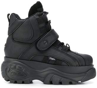 Buffalo David Bitton hi-top platform sneakers