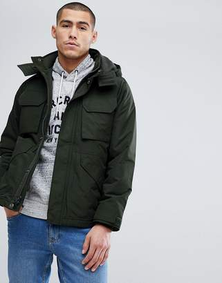 Abercrombie & Fitch Technical Jacket Midweight in Green
