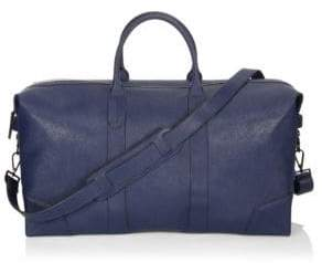 Ben Minkoff Zippered Leather Duffel Bag