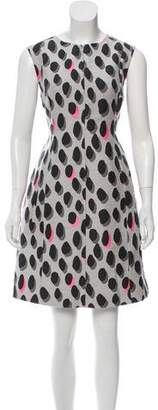 Diane von Furstenberg Printed New Summer Dress w/ Tags