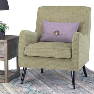 Simpli Dysart Mid Century Arm Chair