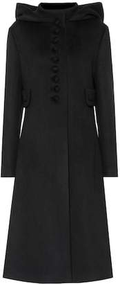 Gucci Hooded wool coat