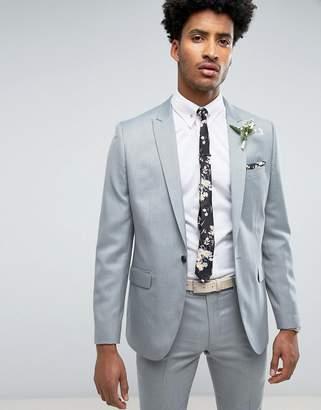 Farah Smart Skinny Wedding Suit Jacket in Mint