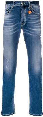 Manuel Ritz faded slim-fit jeans