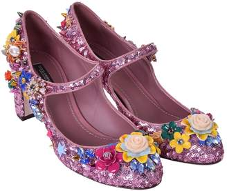 Dolce & Gabbana Glitter heels