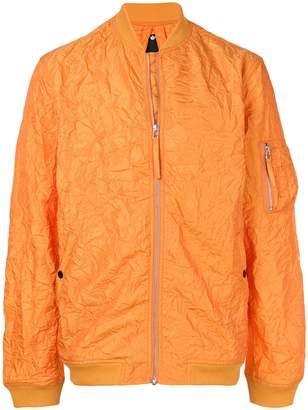 MHI textured bomber jacket