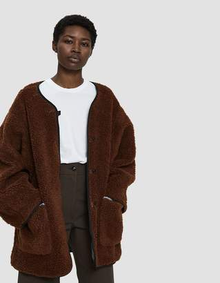 Creatures of Comfort Oversized Sherpa Coat