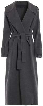 Max Mara Sonale Grey Wool And Angora Coat