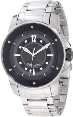Gattinoni Men's Draco Stainless Steel Luminous Watch W0195JSSBLK