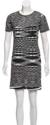 Missoni Short Sleeve Knit Mini Dress