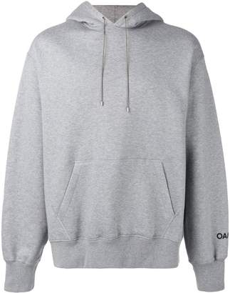 Oamc back embroidered hoodie