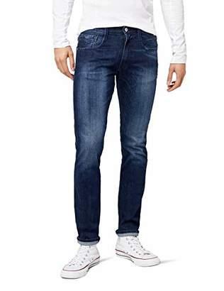 Replay Men's Anbass Slim Jeans, (Dark Blue 7), W30/L30 (Size: 30)