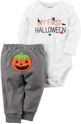 Carter's Baby Girls/Boys' 2-Piece Halloween Bodysuit Pant Set