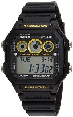 American Rag (アメリカン ラグ) - (アメリカンラグシー)AMERICAN RAG CIE CASIO カシオ COUNT DOWN TIMER カウントダウン タイマー 腕時計 WEB 限定 0061 BK Black 101-BRI-AE1300WH BK メンズ