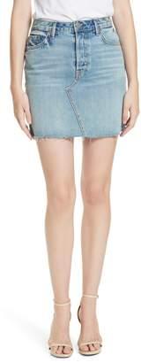 GRLFRND Blaire Denim Miniskirt