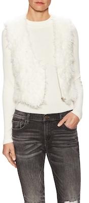 Tanzanie Faux Fur Vest $146 thestylecure.com