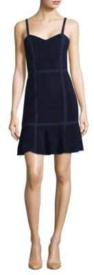 Alice + Olivia Desmond Suede Dress
