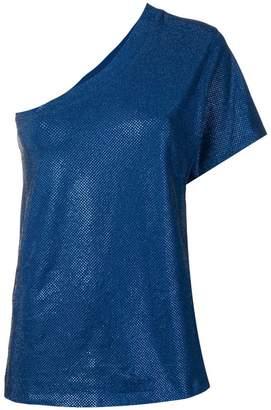 Alexandre Vauthier one-sleeve blouse