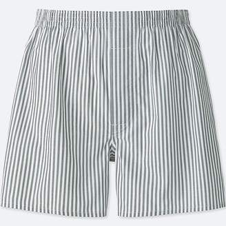 Uniqlo Men's Woven Striped Boxers