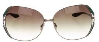 Barton Perreira Oversize Gradient Sunglasses
