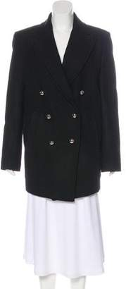 BLK DNM Double-Breasted Knee-Length Coat