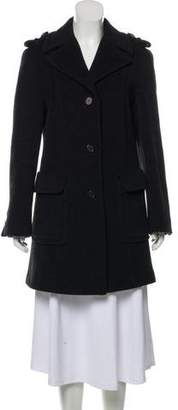 Prada Tailored Wool Coat