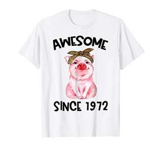Happy 1972 It's My 47th Years Old Birthday Gift Ideas Tshirt