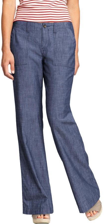 Women's Chambray Trousers 3